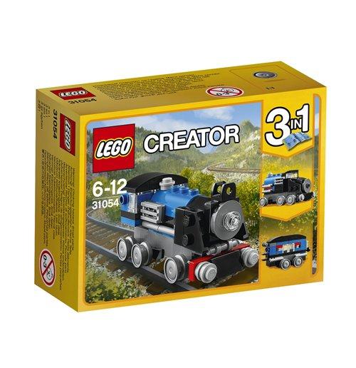 Image of Lego 31054 - Creator - Locomotiva Blu