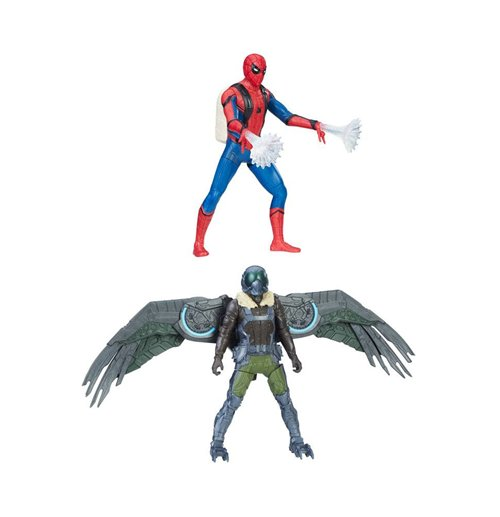 Image of Action Figures Spider-Man Homecoming Web City Deluxe Action Figures 15 cm 2017 Wave 1 Assortimento (4)