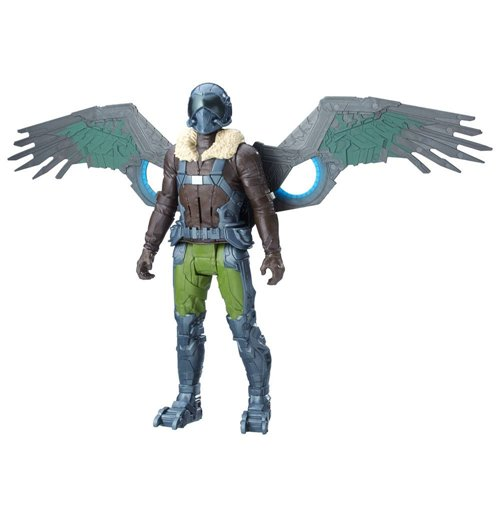 Image of Action Figure Spider-Man Homecoming Titan Hero Elektronic Vulture 30 cm - Versione Tedesca