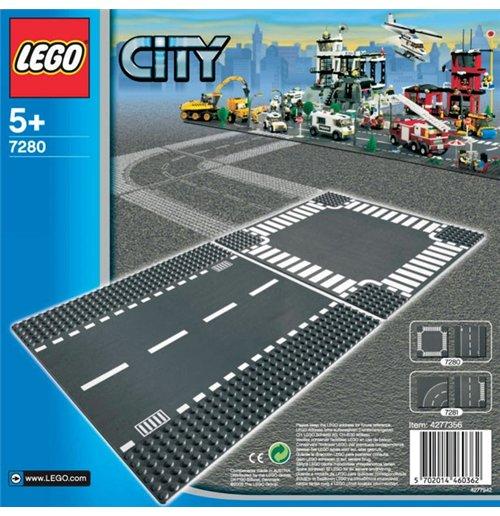 Image of Lego 7280 - City - Rettilineo E Incrocio