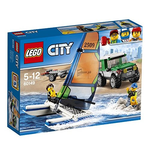 Image of        Lego 60149 - City - Pick Up 4x4 Con Catamarano