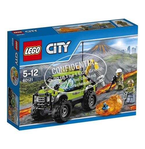 Image of Lego 60121 - City - Camion Delle Esplorazioni Vulcanico