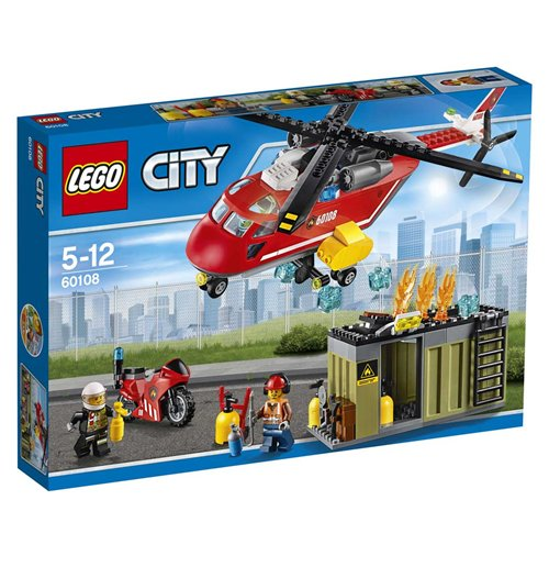 Image of Lego 60108 - City - Unita' Di Risposta Antincendio