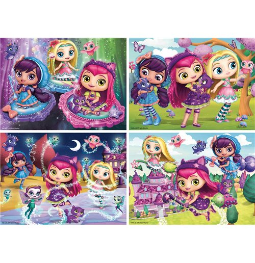 Image of Ravensburger 06886 - Puzzle 4 In A Box - Little Charmers