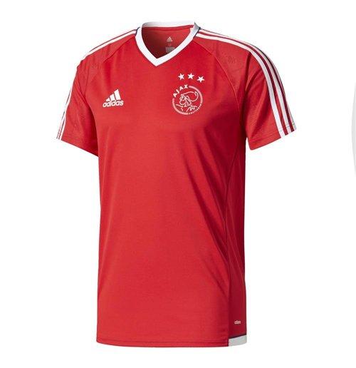 Image of T-shirt Ajax 2017-2018 (Rosso)