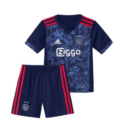 Image of Divisa Ajax 2017-2018 Away da bambino