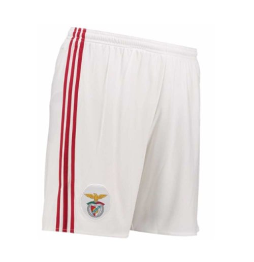 Image of Pantaloncini Short Benfica 2017-2018 Home (Bianco)