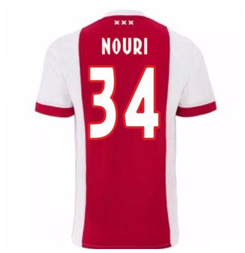 Image of Maglia 2017/18 Ajax 2017-2018 Home (Nouri 34)