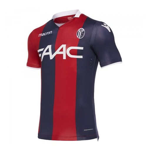 Image of Maglia 2017/18 Bologna 2017-2018 Home Authentic