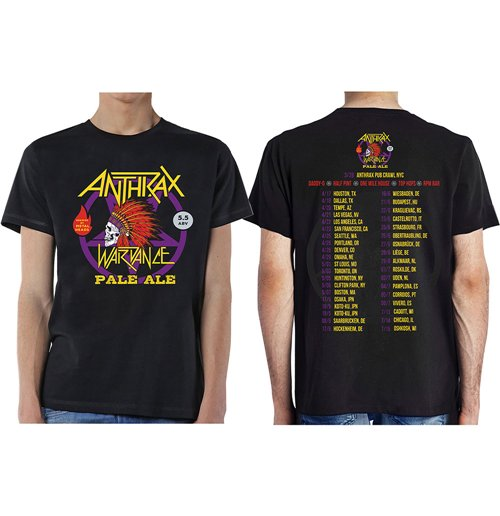 Image of T-shirt Anthrax 269054