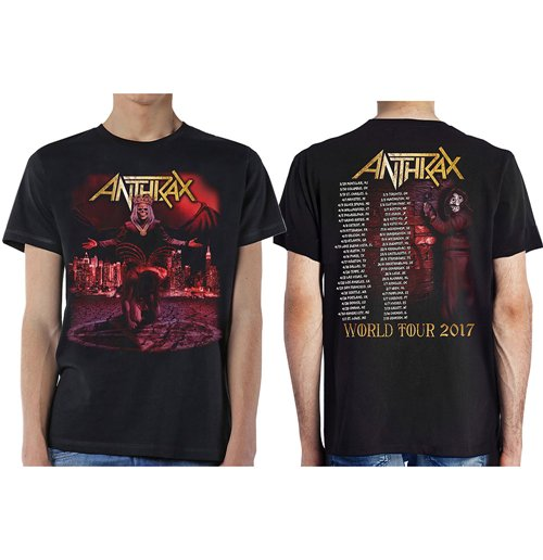 Image of T-shirt Anthrax 269056