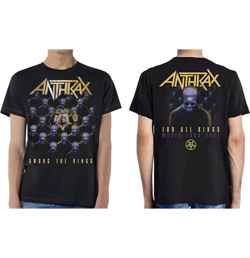 Image of T-shirt Anthrax 269057