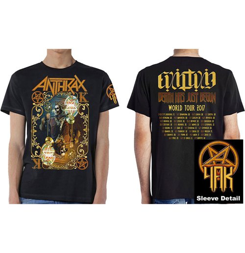 Image of T-shirt Anthrax 269058