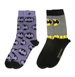 dc-comics-damen-socken-doppelpack-batman-purple