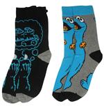 1 rue Sésame pack 2 paires de chaussettes homme Cookie Monster