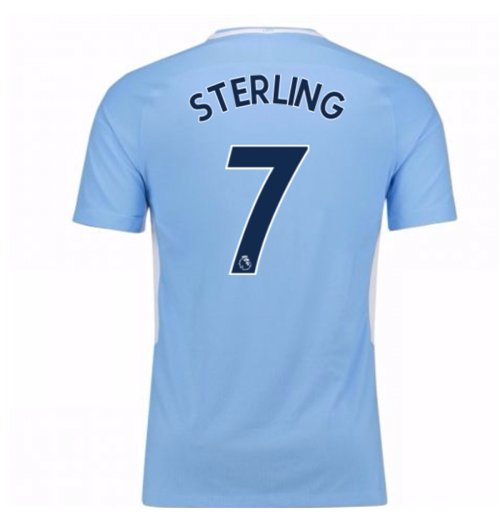 Image of Maglia Manchester City Away 2017/18 (Sterling 7)