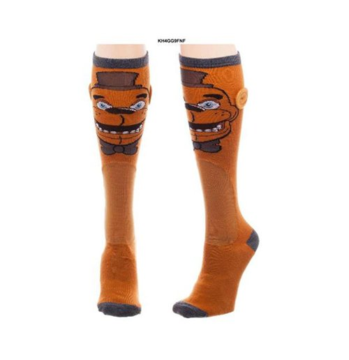 Image of        Five Nights At Freddies - Fazbear Knee High Socks (Calzini)