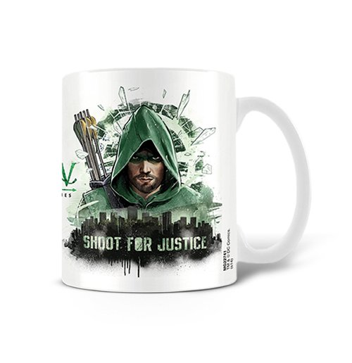 Image of Arrow - Shoot For Justice (Tazza)
