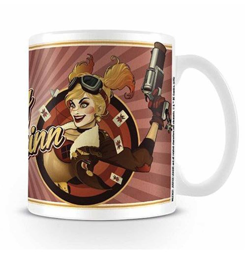 Image of Dc Comics Bombshells - Harley Quinn Red (Tazza)
