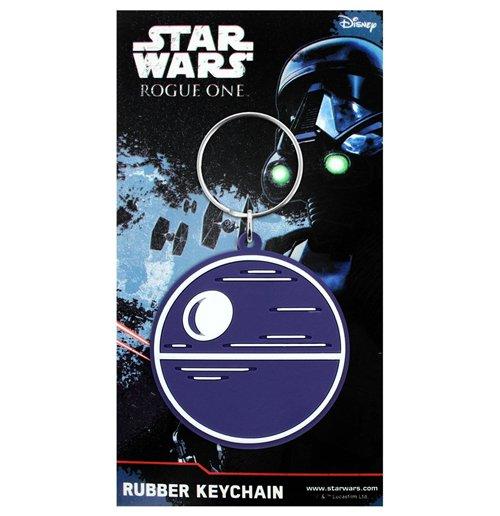 Image of Star Wars Rogue One - Death Star Rubber Keyring (Portachiavi Gomma)