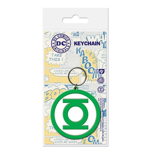 Image of Dc Comics - Green Lantern - Logo (Portachiavi Gomma)
