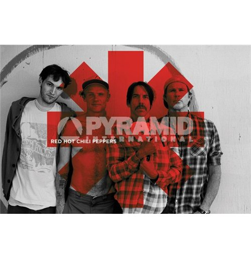 Image of Red Hot Chilli Peppers - Logo (Portachiavi)