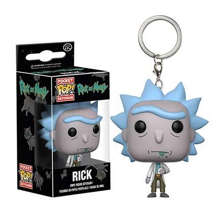 Chaveiro Rick and Morty