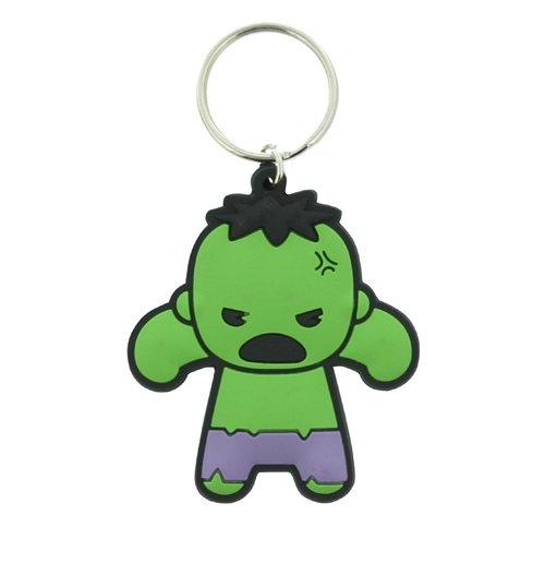 Chaveiro Marvel Kawaii - Hulk