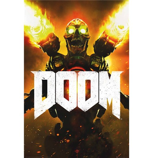 Image of Doom - Key Art (Poster Maxi 61x91,5 Cm)