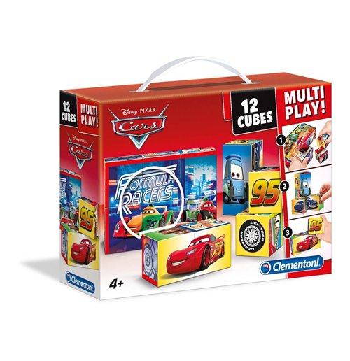 Image of Puzzle Cubi 12 Pz - Cars