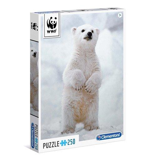 Image of Puzzle 250 Pz - Wwf - Baby Polar Bear