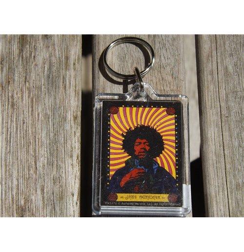 Image of Jimi Hendrix - Pyschedelic (Portachiavi)
