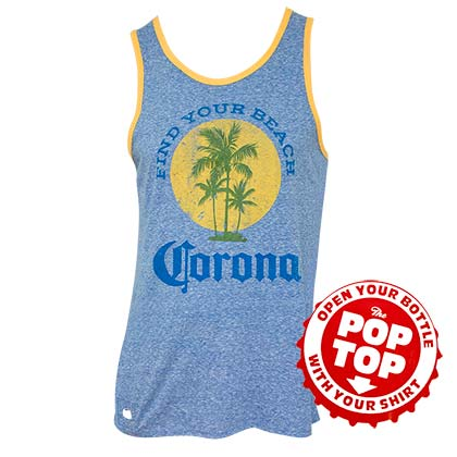 top-corona-extra-men-s-blue-find-your-beach-mit-flaschenoffner
