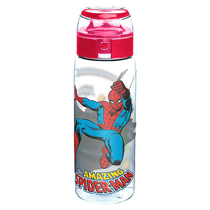 trinkflasche-spiderman