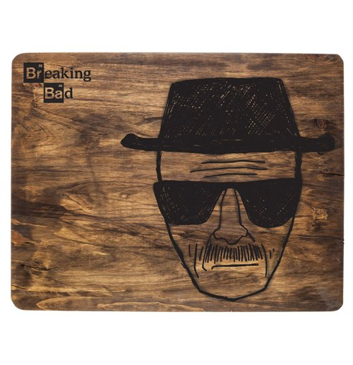 Image of Tagliere Breaking Bad Heisenberg