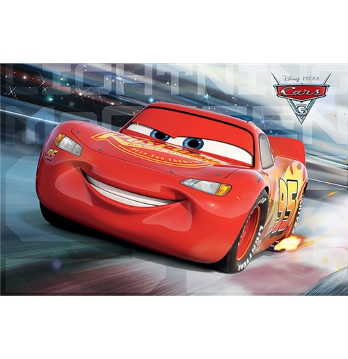 Image of Cars 3 - Mcqueen Race (Poster Maxi 61x91,5 Cm)
