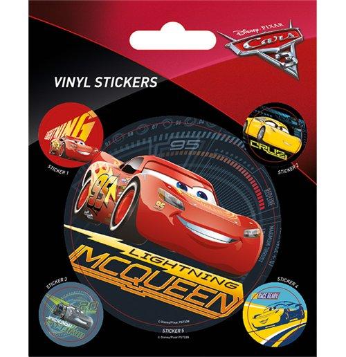 Image of Cars 3 - Lightning Mcqueen (Set Adesivi 12,5X10 Cm)