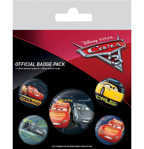 Image of Cars 3 - Characters (Badge Pack)