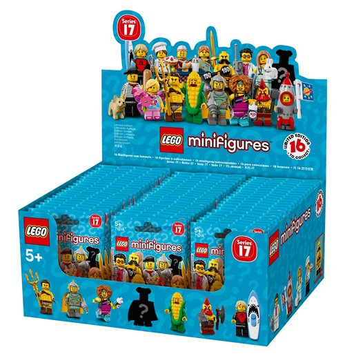 Image of Lego 71018 - Minifigures Collezione 17 - Bustina