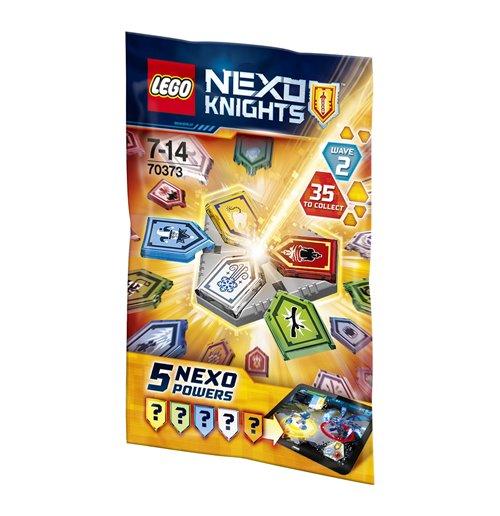Image of Lego 70373 - Nexo Knights - Ultimate Knights - Bustina Combo Nexo Powers 2
