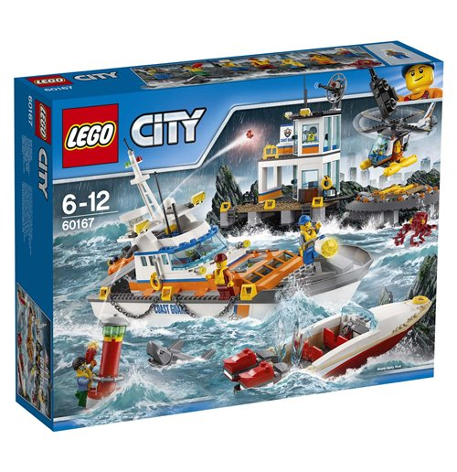 Image of Lego 60167 - City - Quartier Generale Della Guardia Costiera