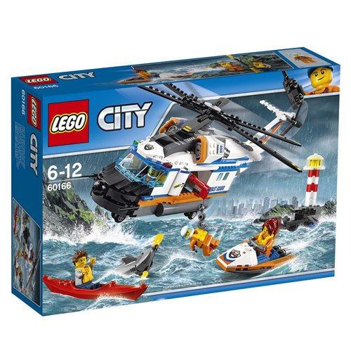 Image of Lego 60166 - City - Elicottero Della Guardia Costiera