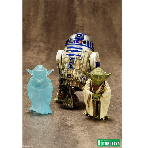Image of Star Wars - Yoda & R2-D2 Dagobah Artfx + Statue