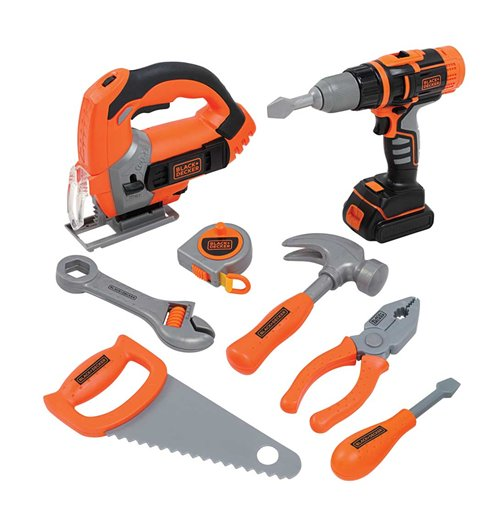 Image of Black+Decker - Mega Set Attrezzi Con 8 Accessori