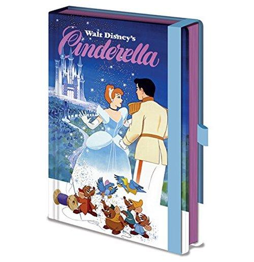 Image of Disney Vintage Princess (Cinderella) Premium A5 Notebook (Quaderno)