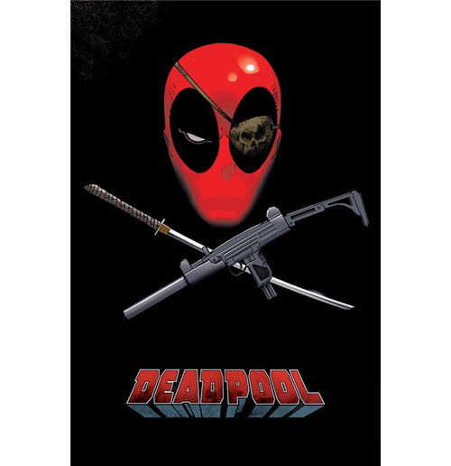 Image of Deadpool - Eye Patch (Poster Maxi 61X91,5 Cm)