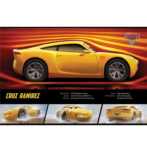 Image of Cars 3 - Cruz Ramirez Stats (Poster Maxi 61x91,5 Cm)
