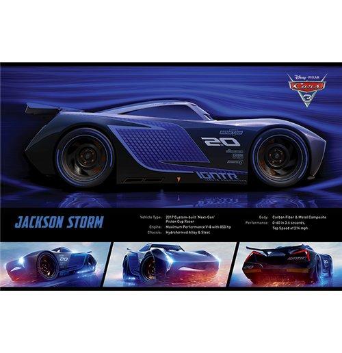 Image of Cars 3 - Jackson Storm Stats (Poster Maxi 61x91,5 Cm)