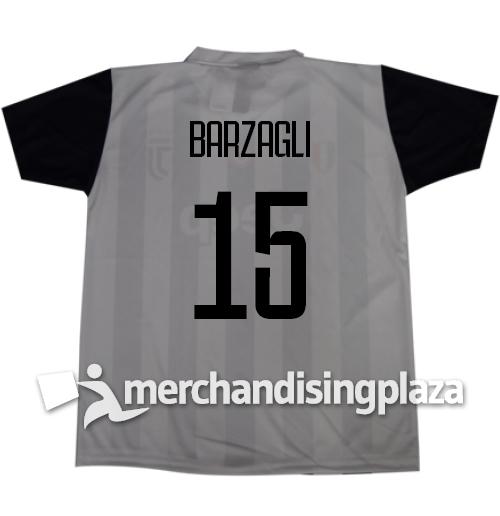 Image of Prima maglia Juventus ufficiale Barzagli 15 replica stagione 2017-18