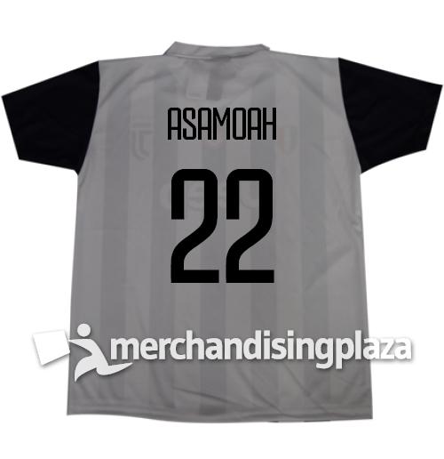 Image of Prima maglia Juventus ufficiale Asamoah 22 replica stagione 2017-18